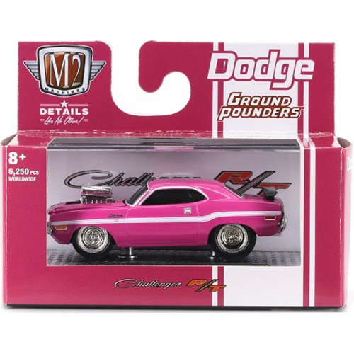 M2 Machines Ground Pounders Release 21 - 1970 Dodge Challenger R/T 440