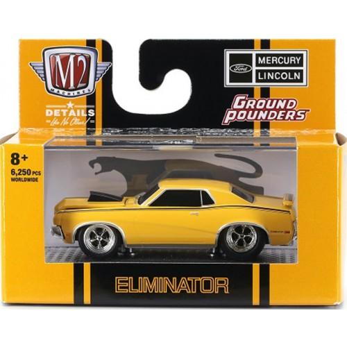 M2 Machines Ground Pounders Release 21 - 1970 Mercury Cougar Eliminator