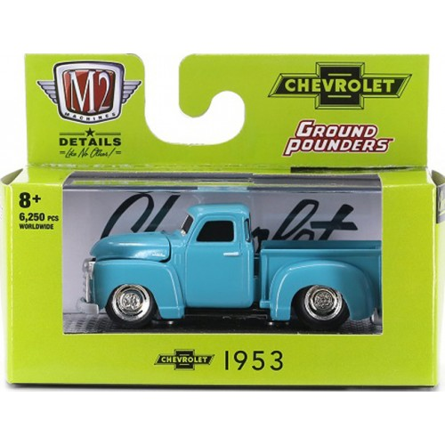 M2 Machines Ground Pounders Release 21 - 1953 Chevy 3100 Truck