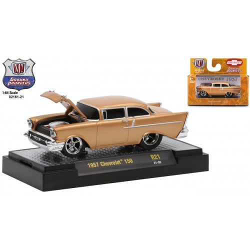 M2 Machines Ground Pounders Release 21 - 1957 Chevy 150