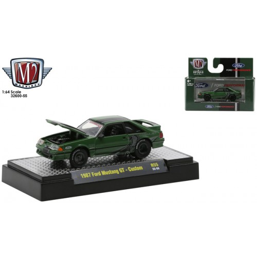 M2 Machines Detroit Muscle Release 55 - 1987 Ford Mustang GT Custom