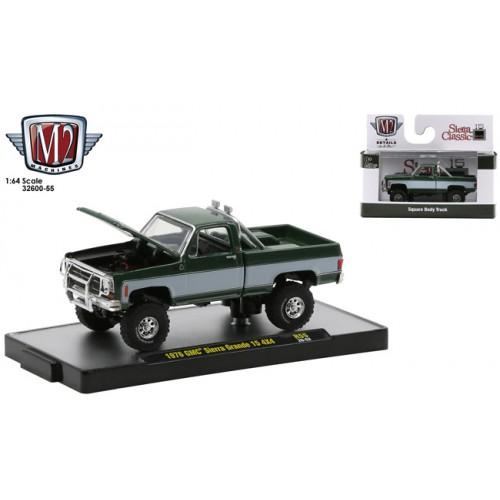 M2 Machines Detroit Muscle Release 55 - 1976 GMC Sierra Grande 15 4x4 Truck