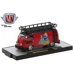 M2 Machines Coca-Cola Release NMD01 - 1960 Volkswagen Delivery Van