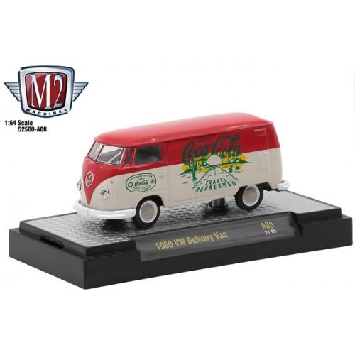 M2 Machines Coca-Cola Release A08 - 1960 Volkswagen Delivery Van