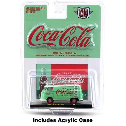 M2 Machines Coca-Cola Release A01 - 1960 Volkswagen Delivery Van