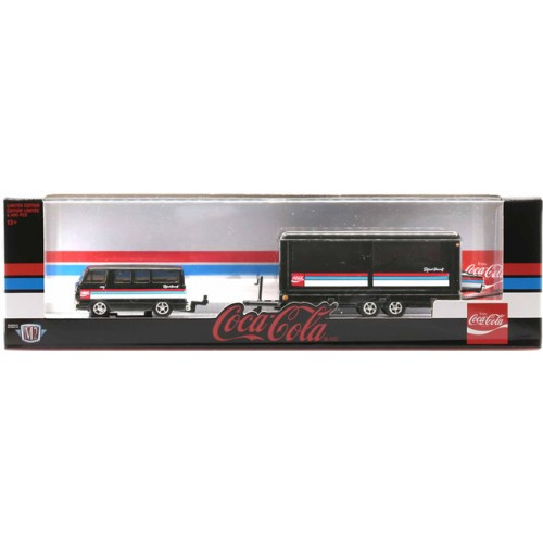 M2 Machines Coca-Cola Haulers Release TW09 - 1964 Dodge A100  and 1966 Dodge Charger HEMI