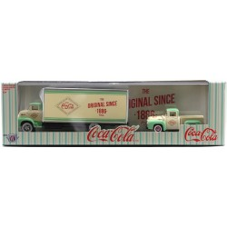 M2 Machines Coca-Cola Haulers Release TW10 - 1956 Ford COE with 1956 Ford F-100