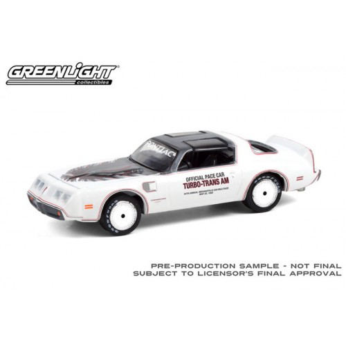 Greenlight Hobby Exclusive - 1980 Pontiac Firebird Trans Am Indianapolis 500 Pace Car
