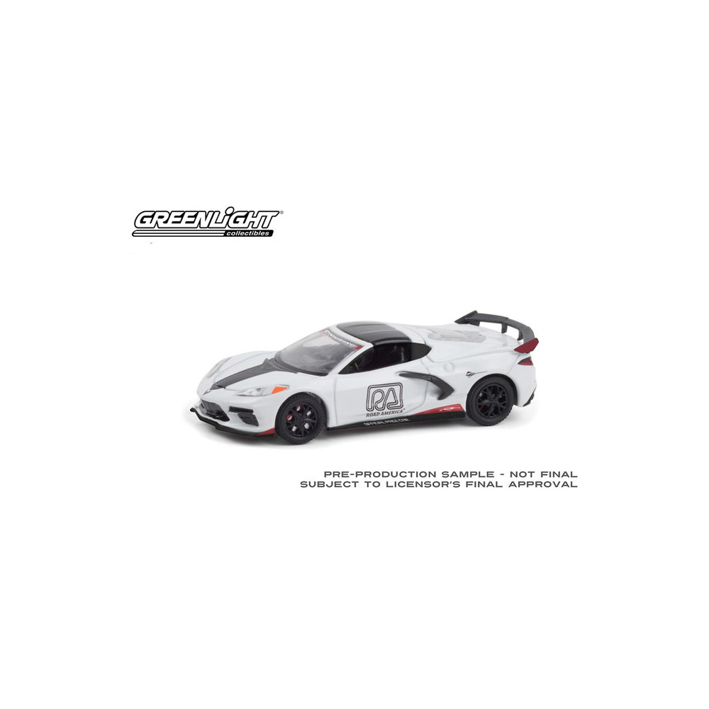 Greenlight Hobby Exclusive - 2020 Chevrolet Corvette Stingray Coupe Road America Pace Car