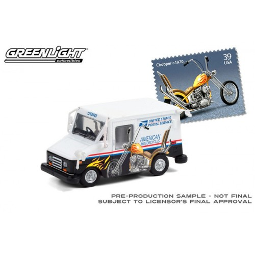 Greenlight Hobby Exclusive - United Post Office Long-Life Postal Delivery Vehicle