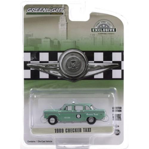 Greenlight Hobby Exclusive - 1969 Checker Motors Marathon A11 Taxi