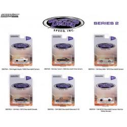 Greenlight Detroit Speed Series 2 - Six Car Set