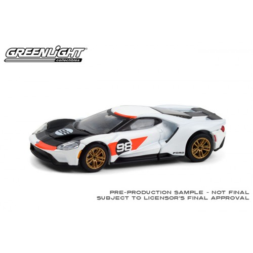 Greenlight Hobby Exclusive - 2021 Ford GT Heritage Edition