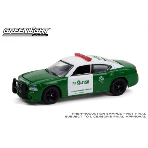 Greenlight Hobby Exclusive - 2008 Dodge Charger Police Carabineros de Chile