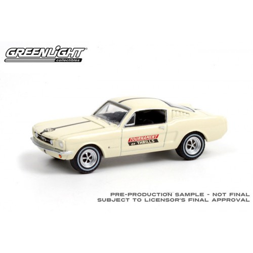 Greenlight Hobby Exclusive - 1965 Ford Mustang Fastback Tournament of Thrills