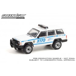 Greenlight Hot Pursuit Series 38 - 1997 Jeep Cherokee NYPD