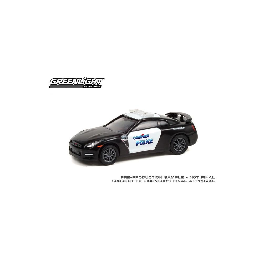 Greenlight Hot Pursuit Series 38 - 2015 Nissan GT-R Oceanside Police Department