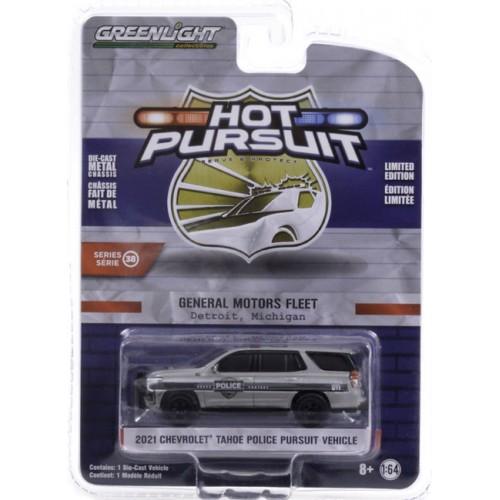 Greenlight Hot Pursuit Series 38 - 2021 Chevrolet Tahoe Police Pursuit Vehicle