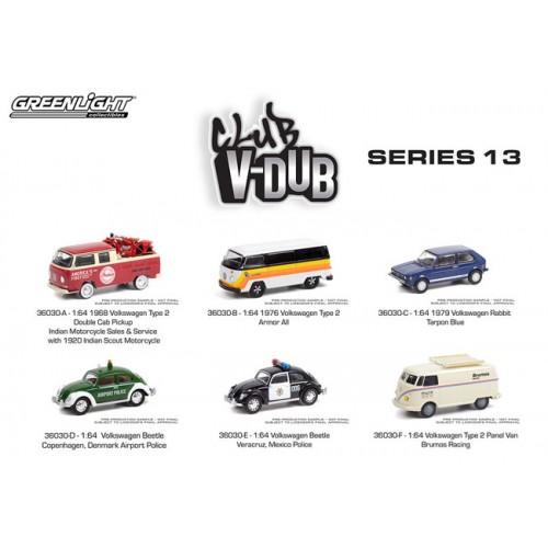 Greenlight Club Vee-Dub Series 13 - Six Car Set
