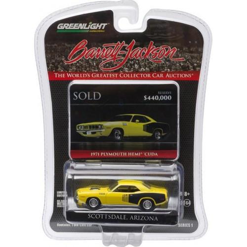 Barrett-Jackson Series 1 - 1971 Plymouth HEMI Cuda