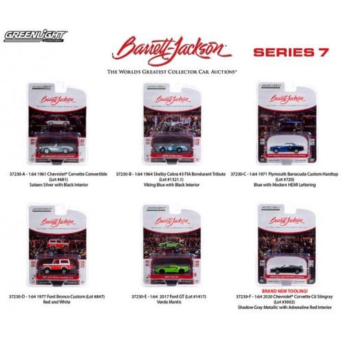 Greenlight Barrett-Jackson Series 7 - Six Car Set