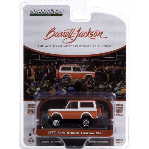 Greenlight Barrett-Jackson Series 7 - 1977 Ford Bronco Custom