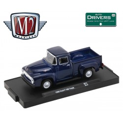M2 Machines Drivers Release 71 - 1956 Ford F-100 Truck