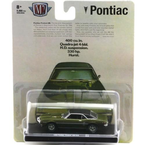 M2 Machines Drivers Release 71 - 1968 Pontiac Firebird 400 H.O.