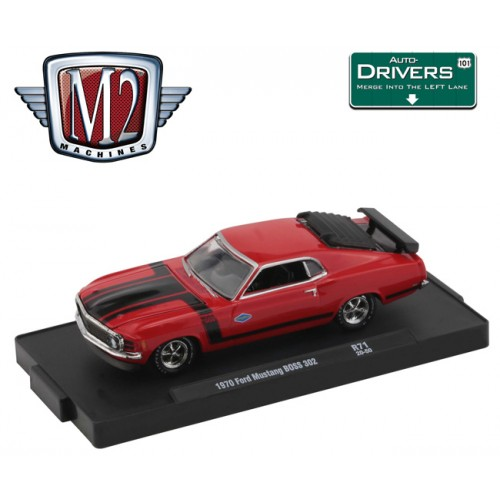 M2 Machines Drivers Release 71 - 1970 Ford Mustang BOSS 302