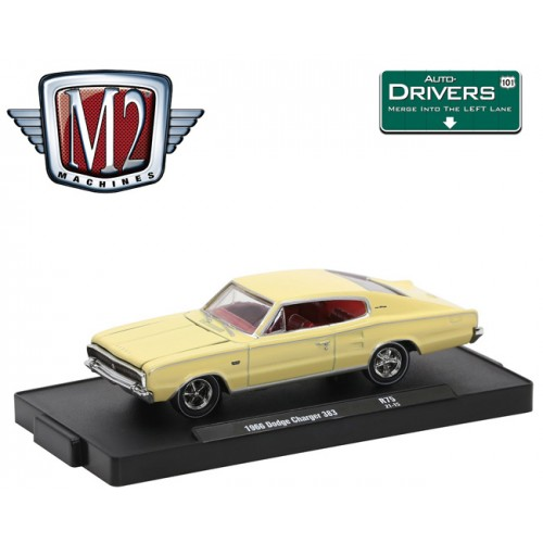 M2 Machines Drivers Release 75 - 1966 Dodge Charger 383