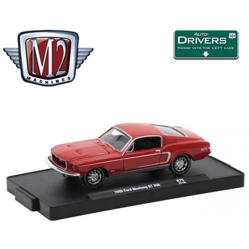 M2 Machines Drivers Release 75 - 1968 Ford Mustang GT 390