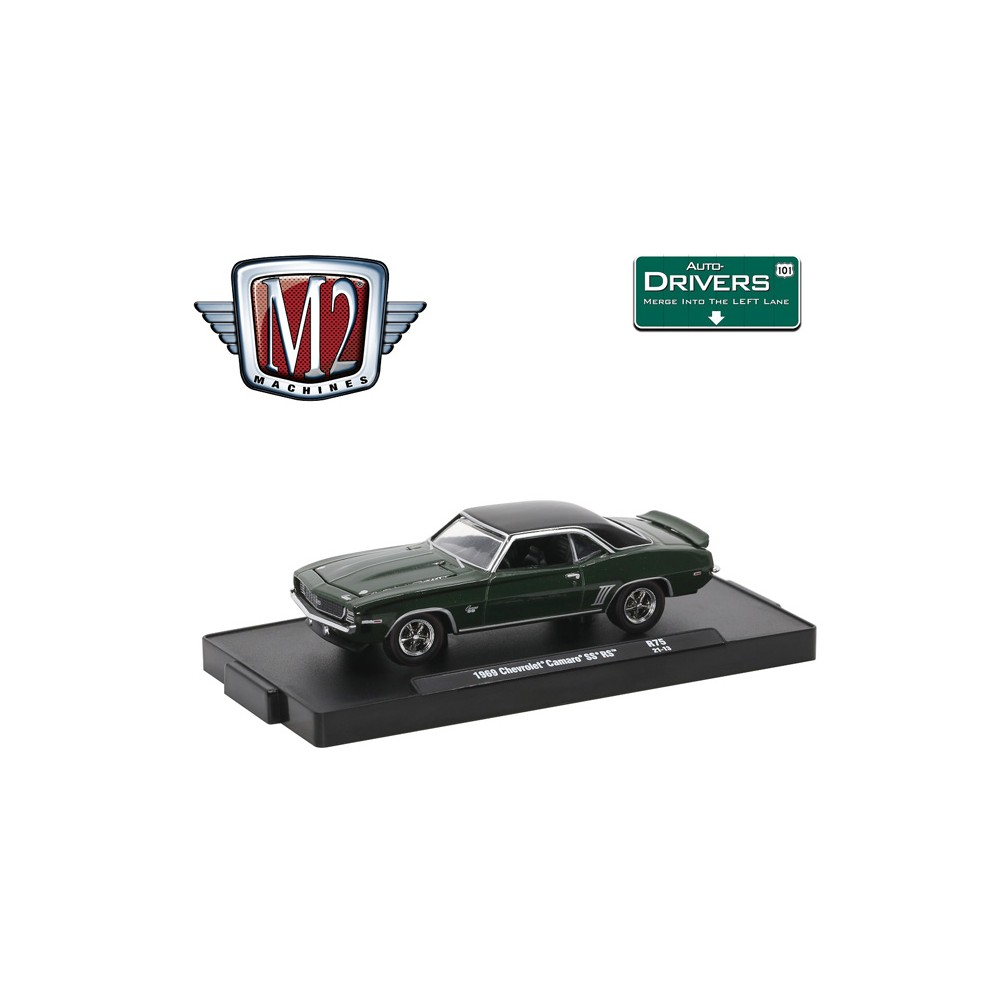 M2 Machines Drivers Release 75 - 1969 Chevrolet Camaro SS RS