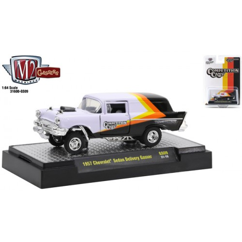 M2 Machines Hobby Exclusive - 1957 Chevrolet Sedan Delivery Gasser Comp Cams