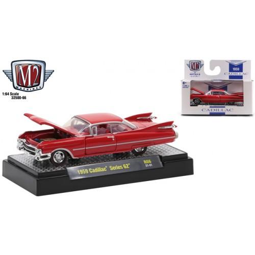 M2 Machines Auto-Thentics Release 66 - 1959 Cadillac Series 62