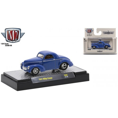 M2 Machines Auto-Thentics Release 66 - 1941 Willys Coupe
