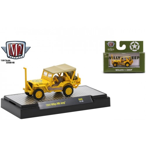 M2 Machines Auto-Thentics Release 66 - 1941 Willys MB Jeep