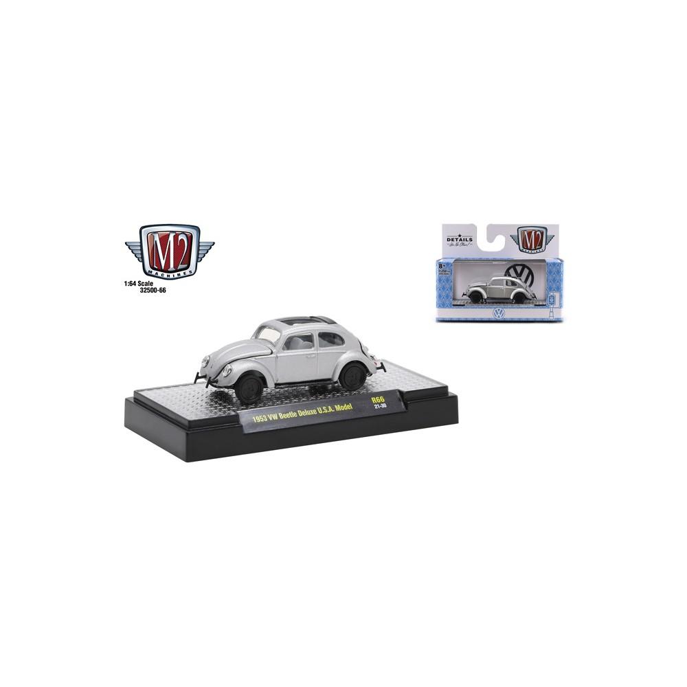 M2 Machines Auto-Thentics Release 66 - 1953 Volkswagen Beetle Deluxe