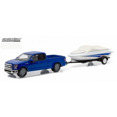 Hitch and Tow Series 6 - 2015 Ford F-150 and Boat with Trailer