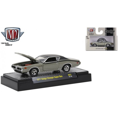 M2 Machines Detroit Muscle Release 57 - 1971 Dodge Charger Super Bee