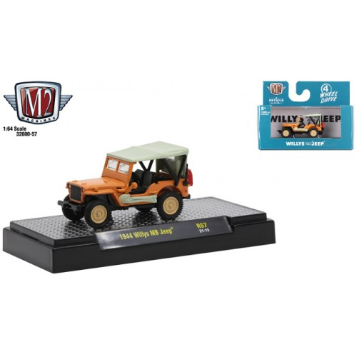 M2 Machines Detroit Muscle Release 57 - 1944 Jeep MB