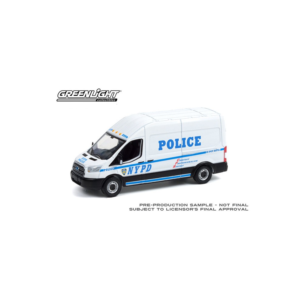 Greenlight Route Runners Series 3 - 2015 Ford Transit NYPD