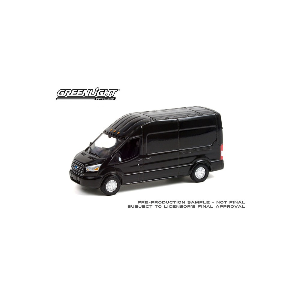 Greenlight Route Runners Series 3 - 2019 Ford Transit Shadow Black