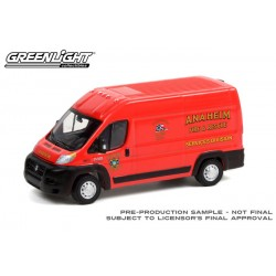 Greenlight Route Runners Series 3 - 2018 RAM ProMaster 2500 Anaheim Fire and Rescue