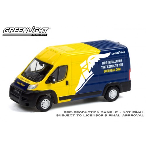 Greenlight Route Runners Series 3 - 2019 RAM ProMaster 2500 High Roof Goodyear