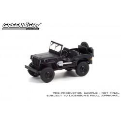 Greenlight Black Bandit Series 25 - 1942 Willys MB Jeep