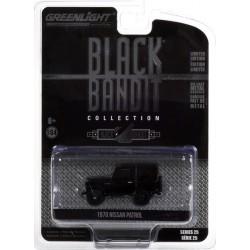 Greenlight Black Bandit Series 25 - 1970 Nissan Patrol