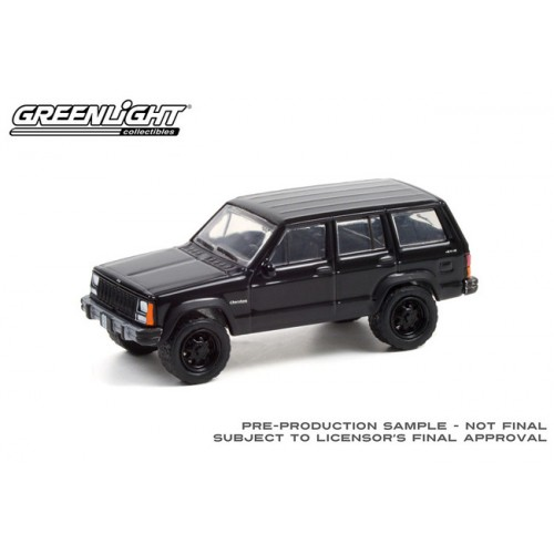 Greenlight Black Bandit Series 25 - 1990 Jeep Cherokee