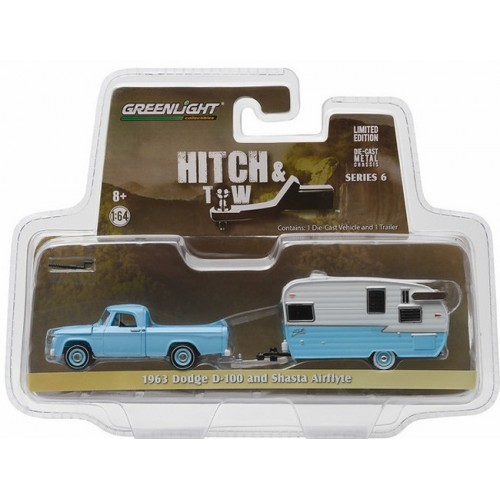 Hitch and Tow Series 6 - 1963 Dodge D-100 and Shasta Airflyte
