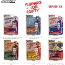 Greenlight Running on Empty Series 13 - Six Car Set