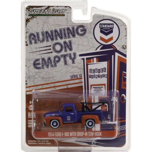 Greenlight Running on Empty Series 13 - 1954 Ford F-100 with Drop In Tow Hook Standard Oil